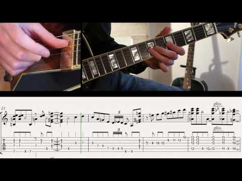 Ben-T-Zik/BOBBY HEBB/SUNNY/Guitar Cover #20 (with SCORE&TAB)