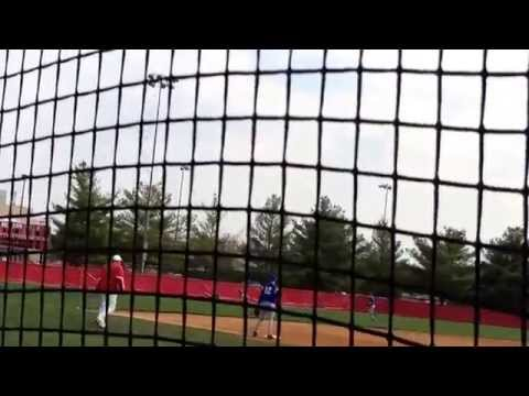 Zach Lovell New Palestine High School 2016 hitting 4/12/14