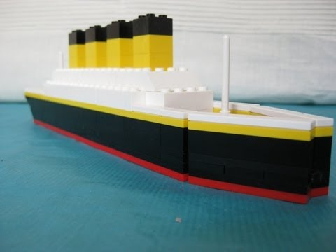 Lego Titanic Mini YouTube