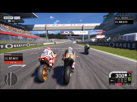 MotoGP 19 - Autodromo Internazionale Del Mugello (ItalianGP) - Gameplay (PC HD) [1080p60FPS]