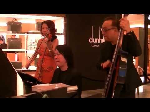 A Nightingale Sang in Berkeley Square (violin) by Yap Shu Mei @ Paragon (21 Aug 13) (HD)