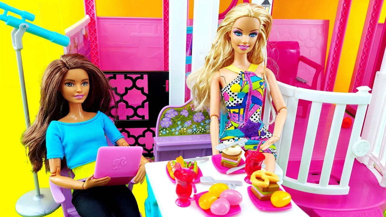 Barbie dolls house games