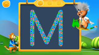 Letter Writing  - Learn to Write Letter, Kids Learn - Writing Alphabet A to Z, Game for Kids