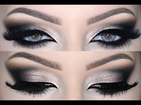 Sexy and Dramatic ♡ Smokey Eye Make Up ♡ - YouTube Dramatic Black Eye Makeup