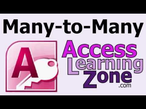 Microsoft Access Many-to-Many Relationships
