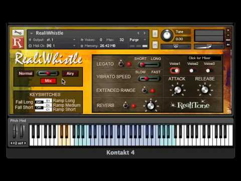 RealiWhistle 1.2 Update New Features