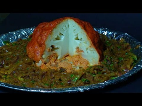 Spicy Tandoori Cauliflower - Vegetarian Thanksgiving Recipe
