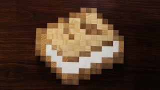 Minecraft Book - The best book in Real Wood