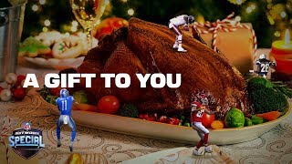 Our Gift To You: Two Servings of NFL Football