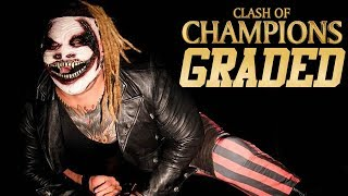 WWE Clash Of Champions 2019: GRADED | The Fiend Strikes, Shock Return