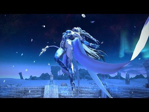 FINAL FANTASY XIV Patch 2.4 - Dreams of Ice. Спецэффекты на танец молодоже