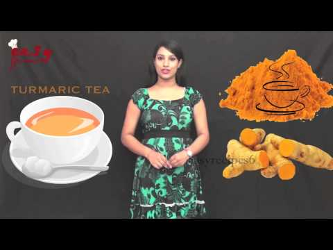 Health Benefits Of Turmeric Tea - Easy Recipes - Health Tips - Turmeric - Beauty Care
