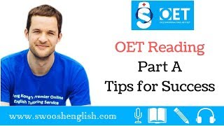 OET Reading Part A Tips for Success
