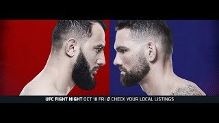 317 UFC on ESPN 6 Reyes vs. Weidman