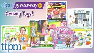 Win fun Activity Toys on #TTPMLIVE (9/12/18)