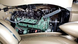 Remanufacturing a Packard V12 engine