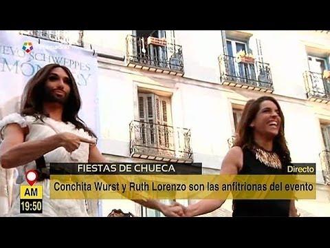 Conchita Wurst y Ruth Lorenzo, pregoneras del Orgullo 2014 de Madrid