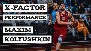 Maxim Kolyushkin – Х-FACTOR PERFORMANCE vs. Krasnye Krylia