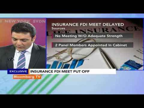 Market Pulse:  Insurance FDI Meet Delayed