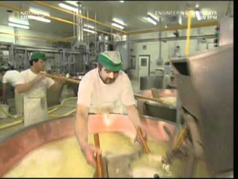 Watch How Parmesan Cheese Is Made