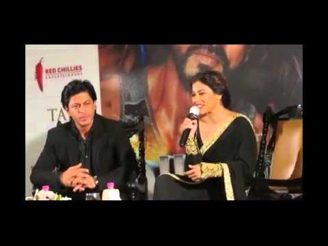 Shahrukh and Kajol in Kolkata to Promote Dilwale