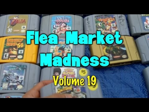 Flea Market Madness Vol. 19 - Pat the NES Punk