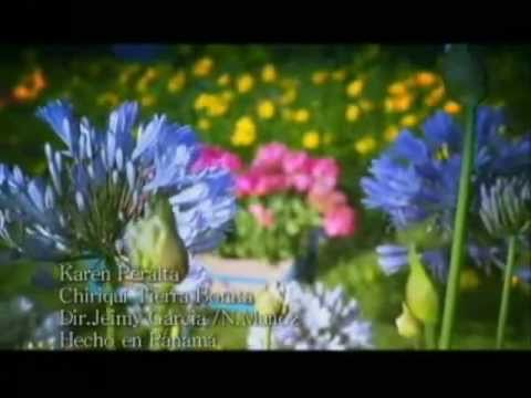 CHIRIQUI TIERRA BONITA - KAREN PERAL - VIDEO OFICIAL