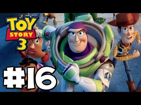 Toy Story 3 The Video-Game - Toy Box Mode - Episode 16 (HD Gameplay Walkthrough)