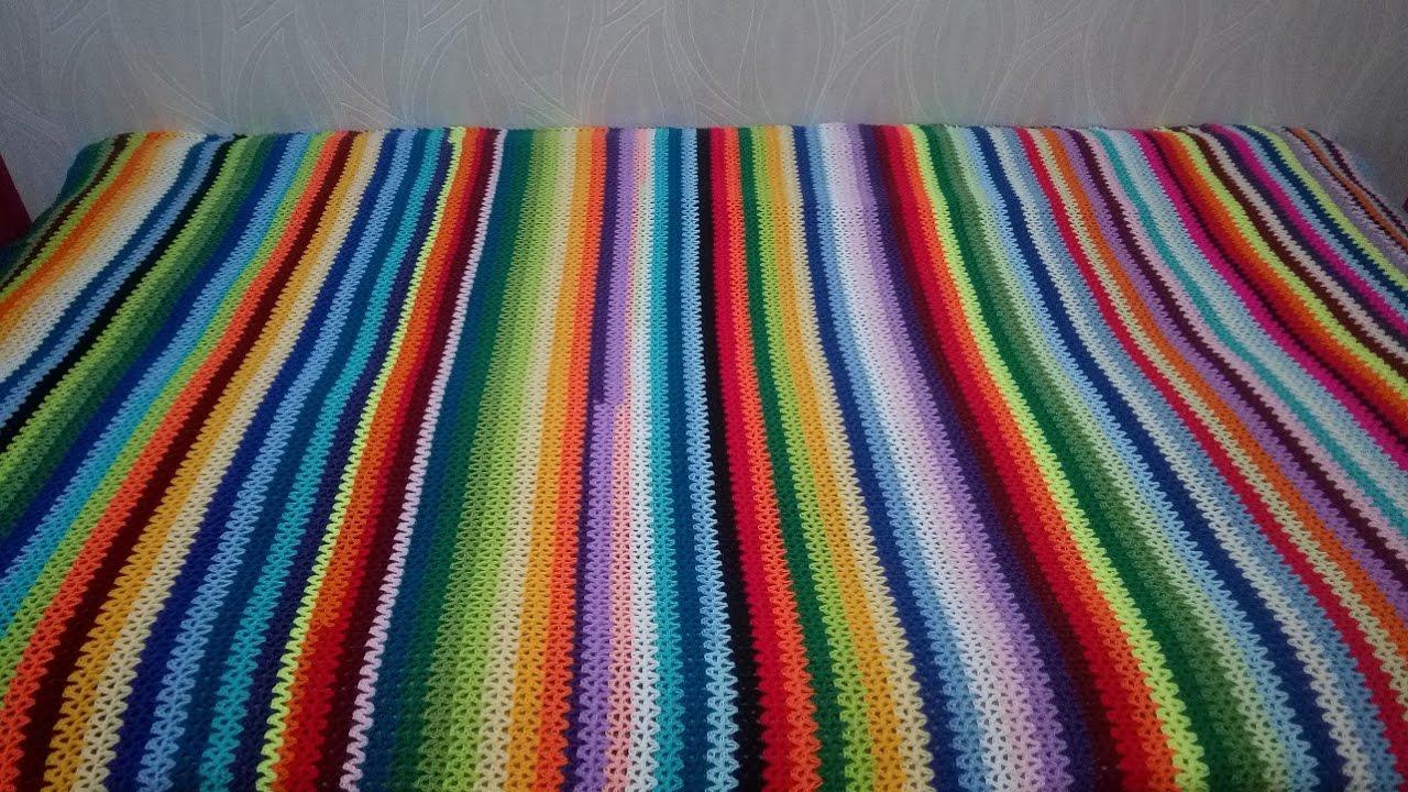 Пряжи для вязания пледов крючком 250