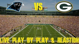 Panthers vs Packers Live Play by Play & Reaction