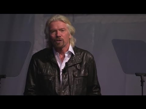 Are you the person that inspired Richard Branson's Space Dream?