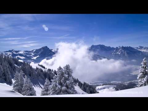 Timelapse movie: The Alps -- part IV (winter)