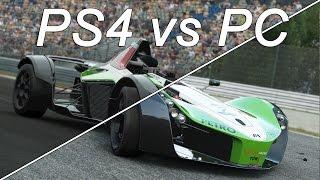 Project CARS - Сравнение графики PS4 vs PC