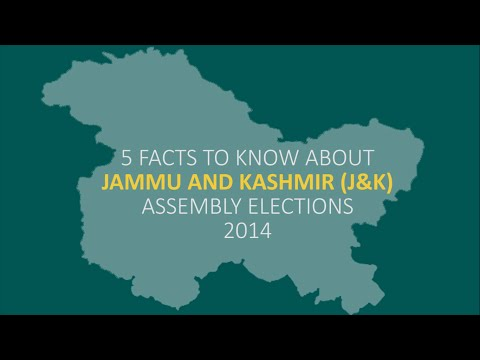 5 Facts To Know About Jammu and Kashmir Assembly Elections 2014