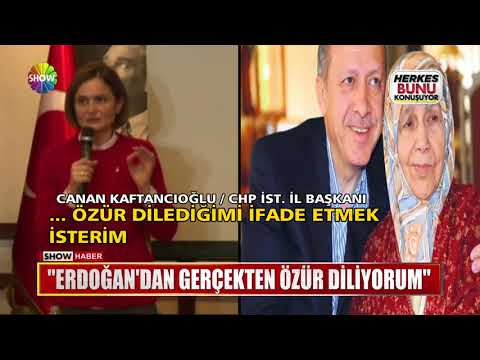 """""""Erdoğan'dan gerçekten özür diliyorum"""""""