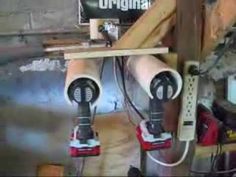 Cordless Drill Holder Youtube