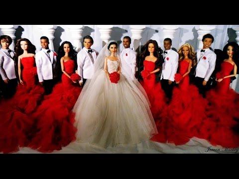 Kim Kardashian & Kanye West Wedding | Barbie Edition