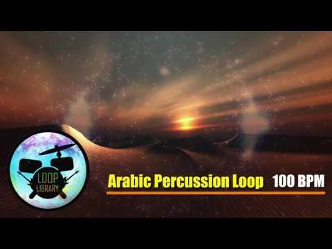 Arabic Percussion Loop 140 bpm #2 / BACKİNG TRACK METRONOME