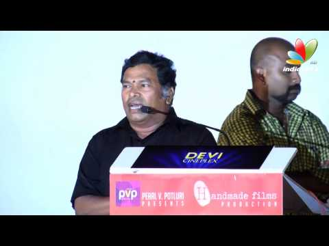 Director Rajesh, Mayilsamy, VTV Ganesh speech at Vallavanukku Pullum Aayudham Audio Launch