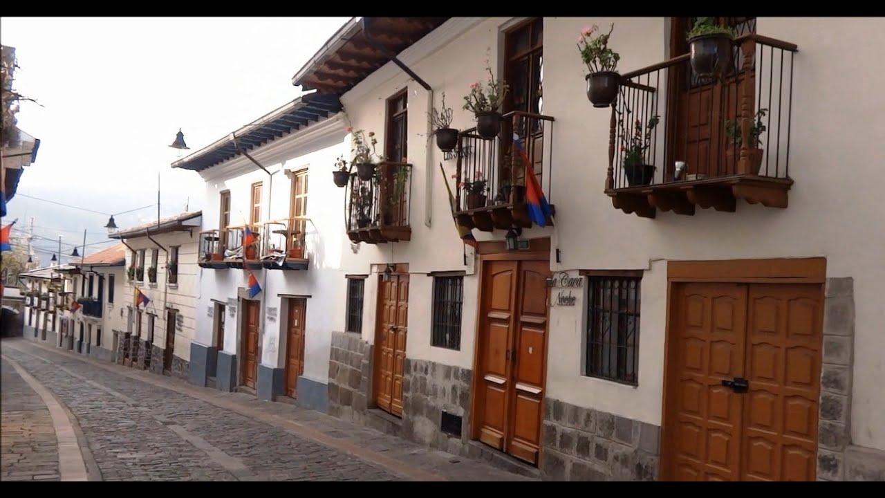 Barrios de Quito Barrio la Ronda Quito