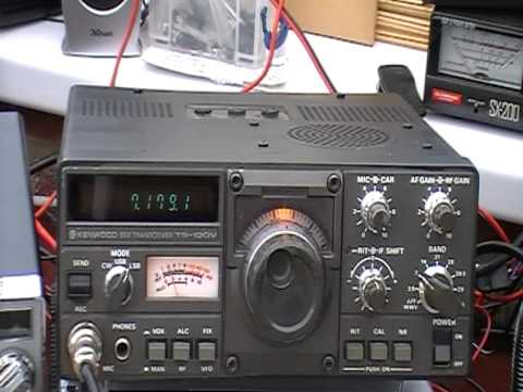Kenwood TS120V - 10 WATT HF SSB/CW TRANSCEIVER