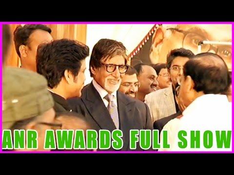 ANR Award to Amitabh Bachan || Full Show (HD)