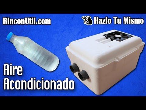 Aire acondicionado casero youtube for Aire acondicionado caravana barato
