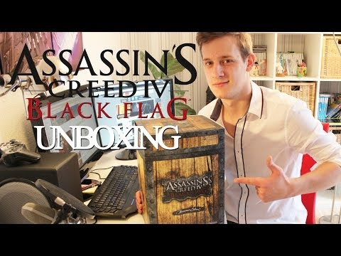 UNBOXING - Assassin' s Creed 4: Black Flag Buccaneer Edition (PS3 / Xbox 360)