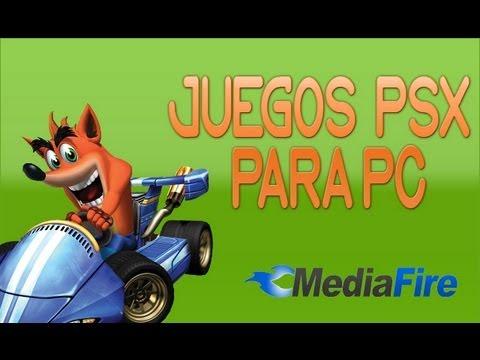 Descargar juegos de PlayStation para pc (Mediafire) 2015