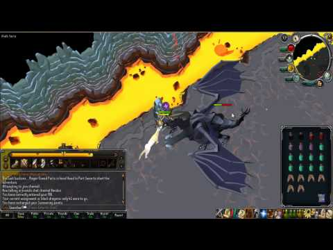 Runescape - Killing The King Black Dragon after EOC. - Commentary Review.