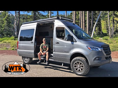 2019 Mercedes Sprinter 4x4 Off Road Camper by Outside Van