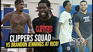Josh Christopher Faces OFF vs LA Clippers Lou Will & Montrezl Harrell at Rico Hines Runs!!