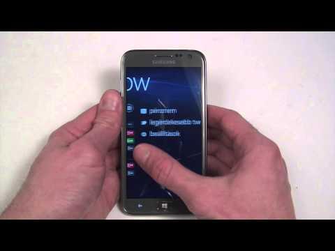 Samsung ATIV S Neo Vs. HTC 8XT Dogfight Part 1