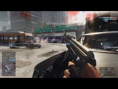 PS4 Battlefield Hardline BETA Gameplay Livestream - NEXT GEN GRAPHICS BFH
